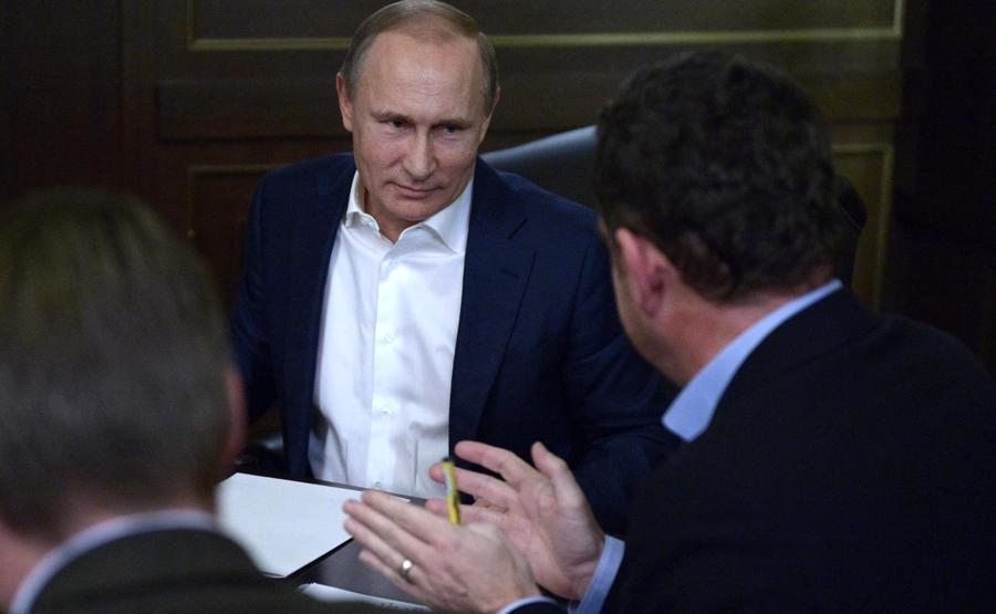 10 самых важных ответов Владимира Путина немецким журналистам