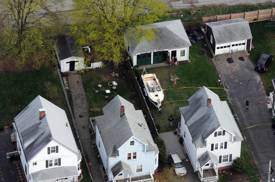 Дома у бостонских террористов был бардак