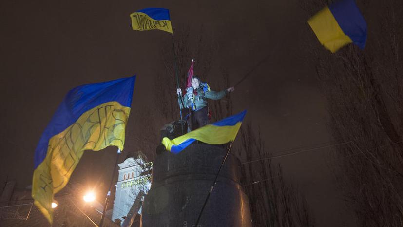 На Украине могут запретить устанавливать памятники лицам, «причастным к советской оккупации Украины»
