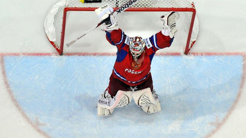 В игре с финнами ворота сборной России будет защищать Семён Варламов
