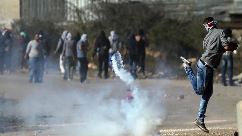 Во время разгона манифестации на Западном берегу Иордана израильские военные застрелили палестинца