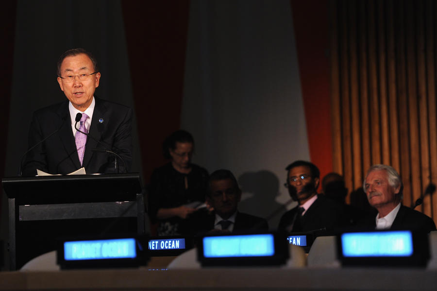 Пан Ги Мун ожидает, что экспертиза подтвердит факт применения химического оружия