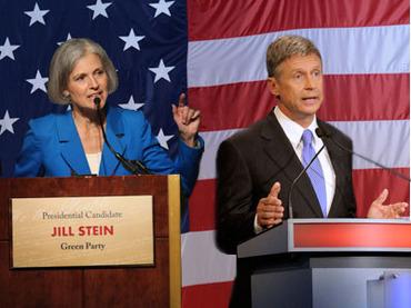 Дебаты кандидатов в президенты США от третьих партий перенесены из-за урагана «Сэнди»