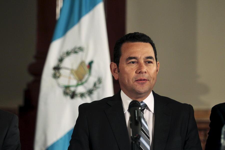 Президент Гватемалы Джимми Моралес: Наши граждане сделали важные шаги в борьбе с коррупцией