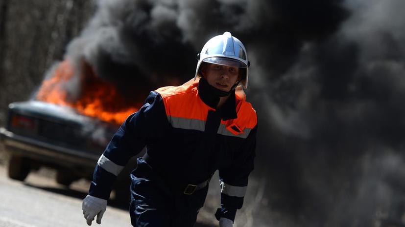 В Москве объявился новый поджигатель машин