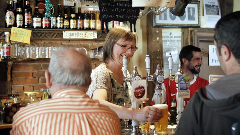 Среди английских пенсионеров распространяется алкоголизм