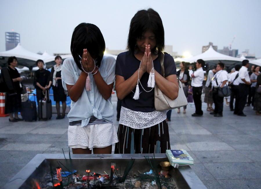 70 лет боли: Япония вспоминает жертв ядерного удара США по Хиросиме