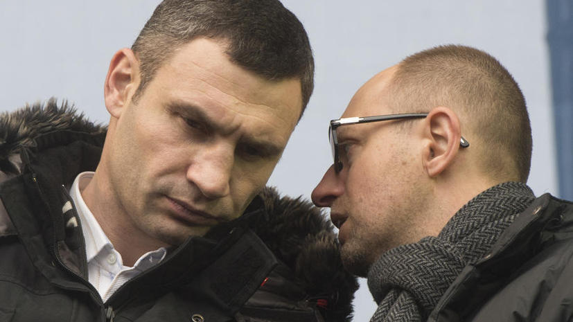 Украинский политик: Кличко не нравится предложение Януковича, потому что он желает стать президентом уже сейчас