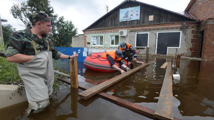 Паводки на Дальнем Востоке принесут многомиллиардный ущерб