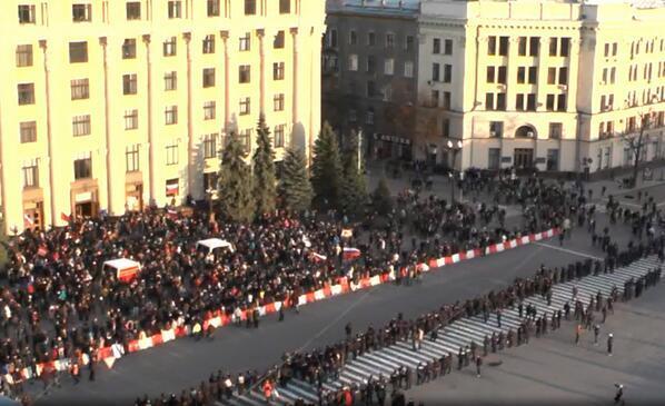 В Харькове вслед за Донецком провозгласили «народную республику»