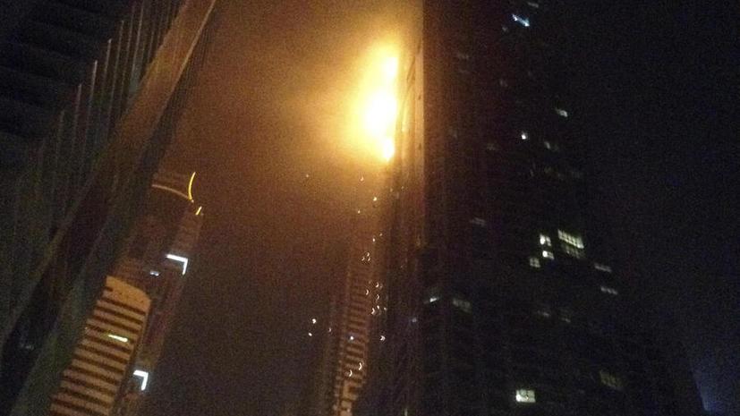 В Дубае сгорел «Факел»: пожар в одном из самых высоких в мире зданий бушевал несколько часов