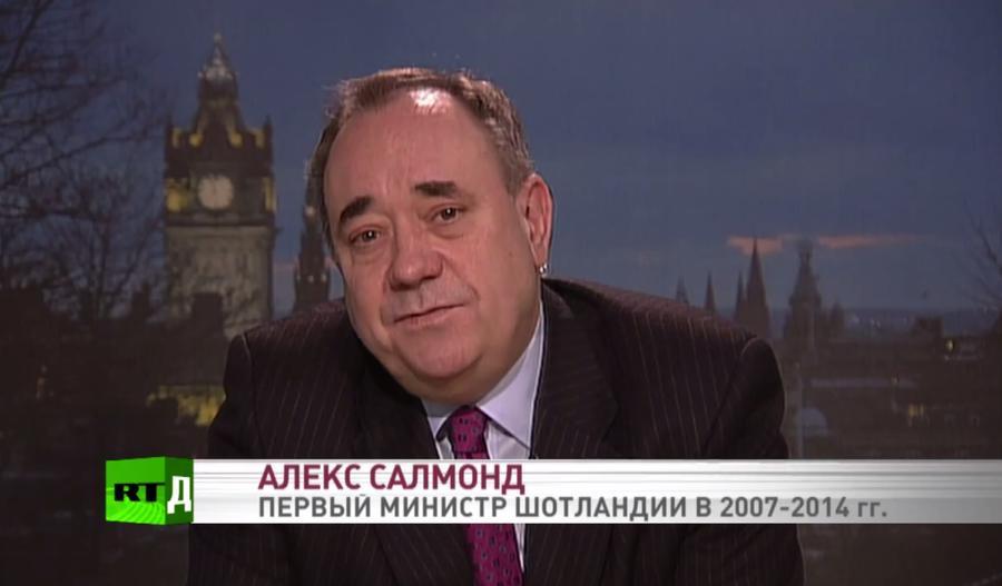 Алекс Салмонд в интервью RT: Борьба за независимость Шотландии не закончена