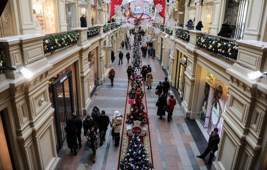 Британская газета предлагает читателям закупаться к Рождеству в Москве