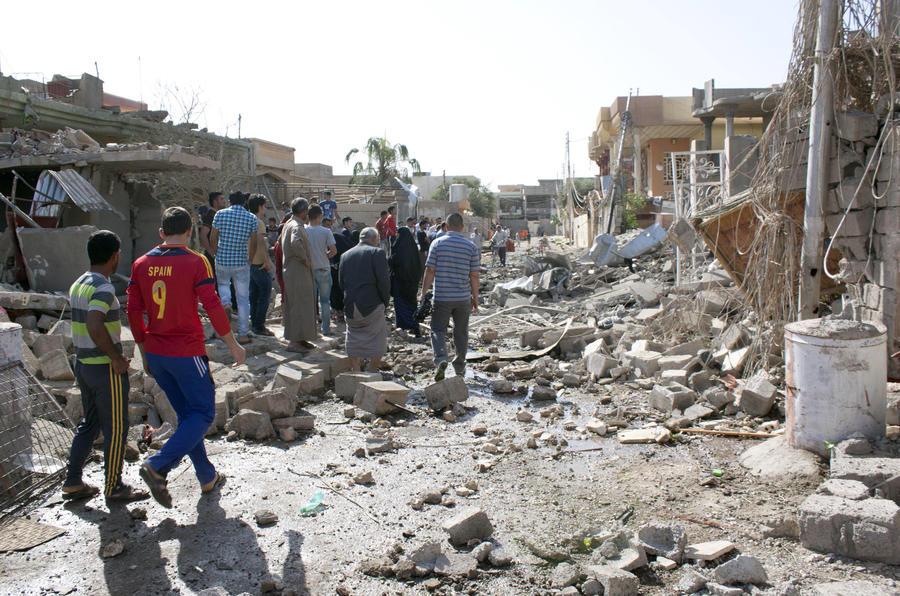 Антиправительственные силы в Ираке захватили город