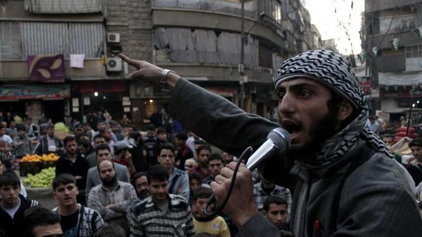Исламистские группировки, действующие в Сирии, договорились о перемирии