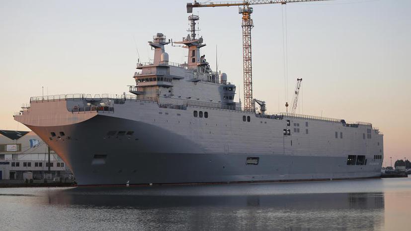 Франция обнародовала точную сумму компенсации России за непоставленные «Мистрали»