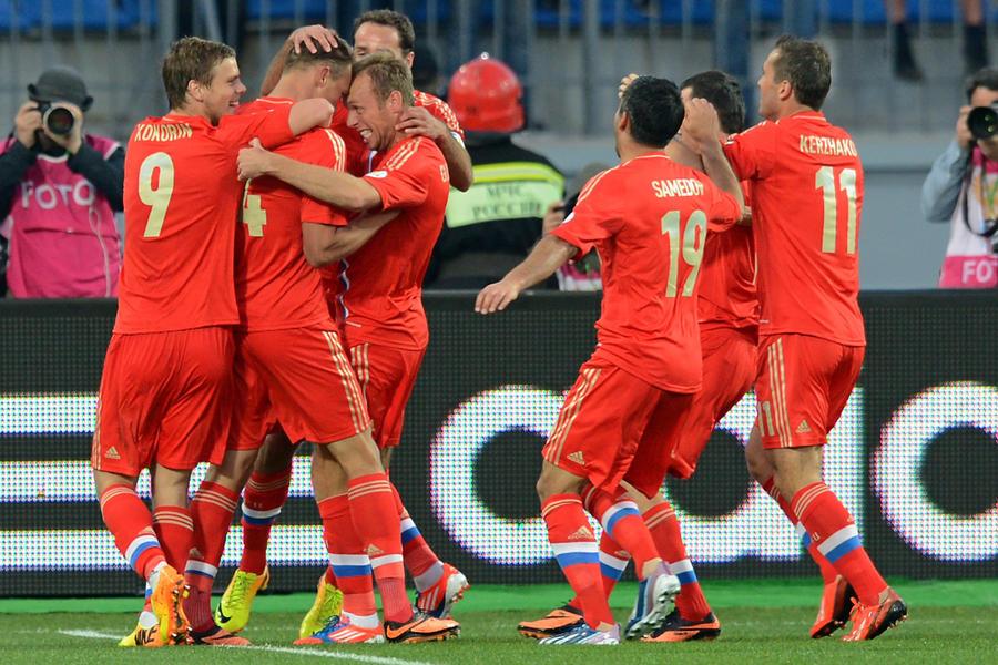 Россия обыграла Израиль в отборочном туре ЧМ-2014