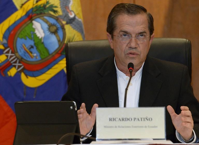 Глава МИД Эквадора: Мы ведём переговоры с Россией на тему Сноудена