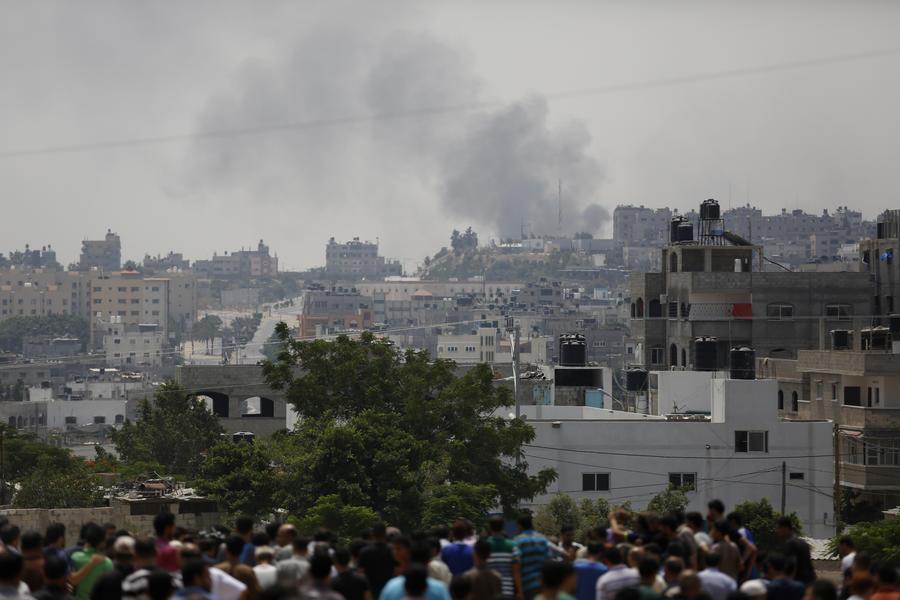 В секторе Газа обстрелян офис телеканала Al Jazeera