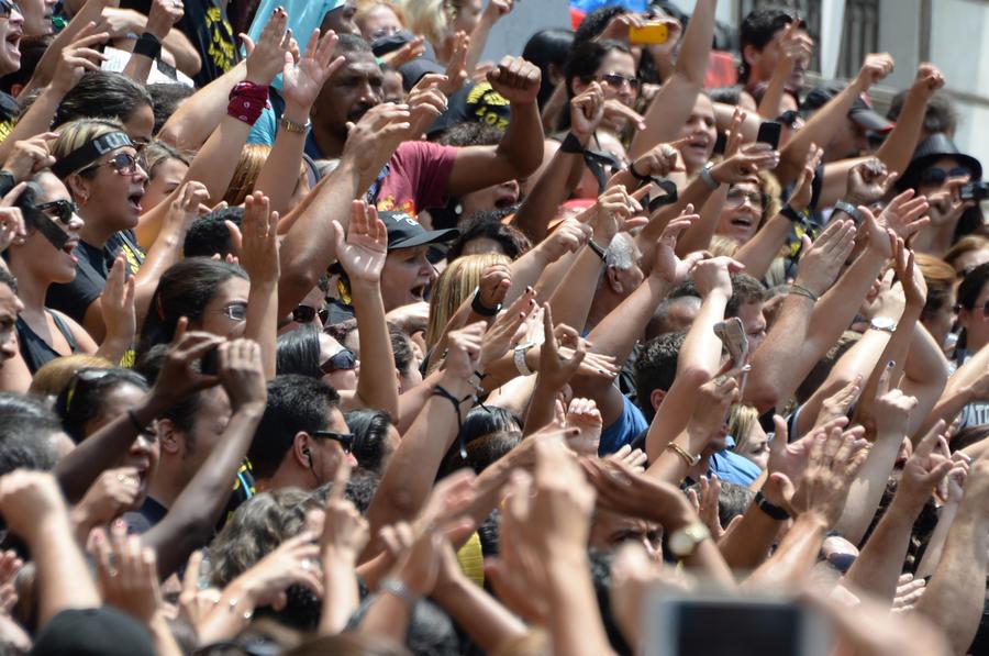 В Бразилии в преддверии Чемпионата мира по футболу проходят массовые забастовки