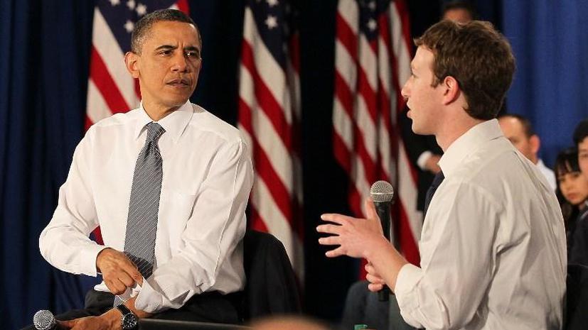 Марк Цукерберг попросил Барака Обаму защитить Интернет от действий спецслужб