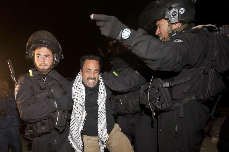 Израильская полиция выселила палестинский форпост на Западном берегу