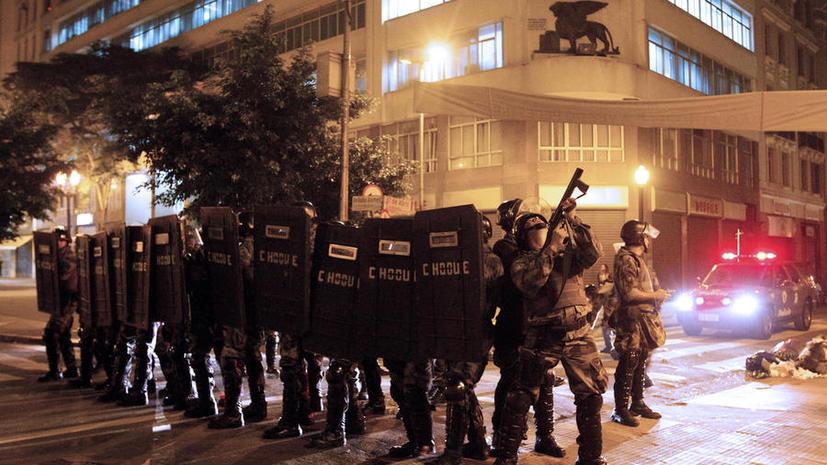 В бразильские города, принимающие матчи Кубка конфедераций, направят войска