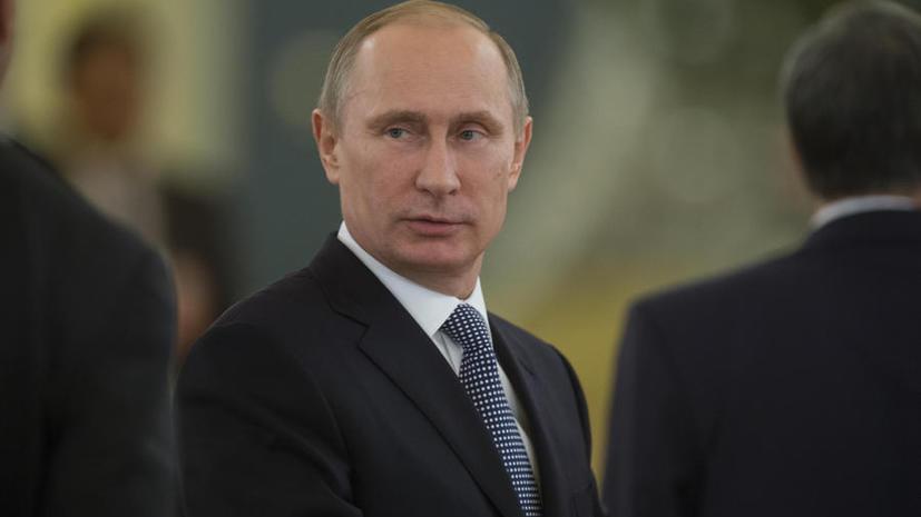 The Huffington Post признал Путина «пиарщиком» года