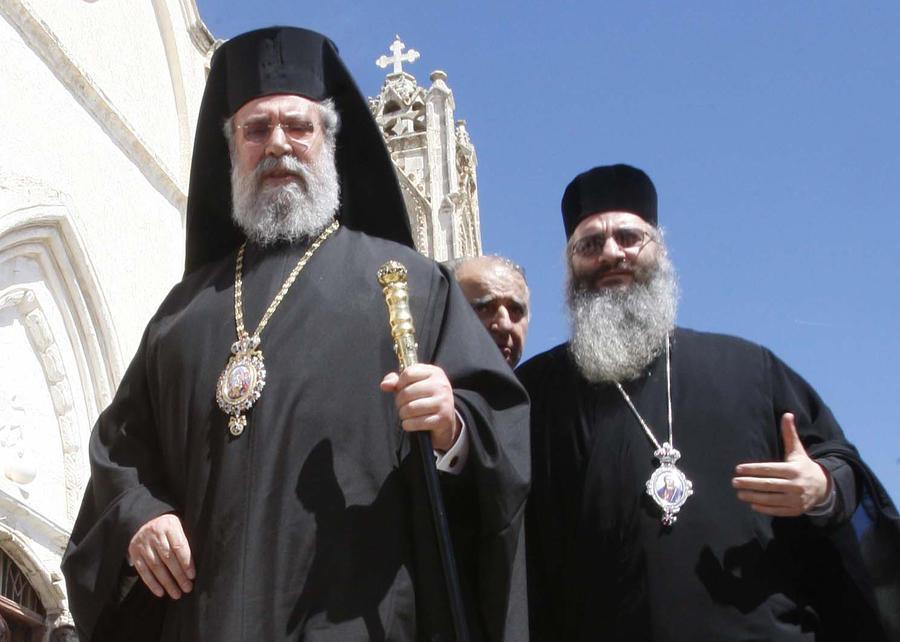 Архиепископ Кипра Хризостом готов предоставить имущество церкви государству