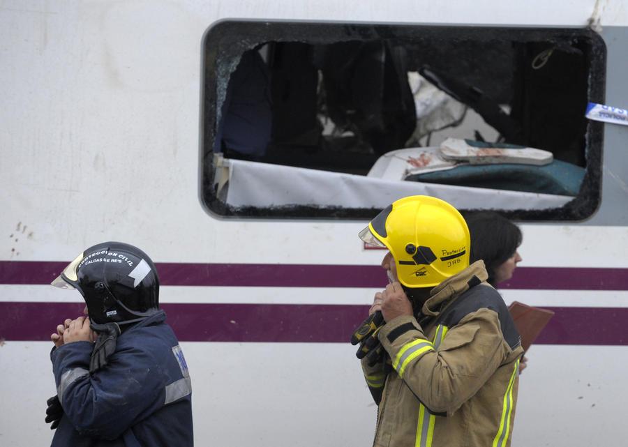 В Барселоне столкнулись поезда: 15 человек пострадали