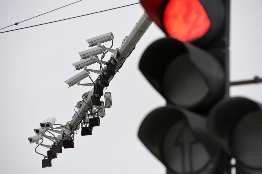 В 2015 году в Москве установят 400 новых камер видеофиксации нарушений