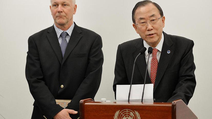 ООН намерена провести полноценную экспертизу по вопросу применения химического оружия в Сирии