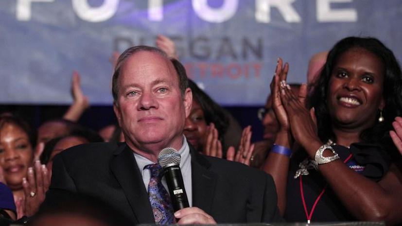 Новый мэр города-банкрота Детройта пообещал решить основные проблемы за полгода