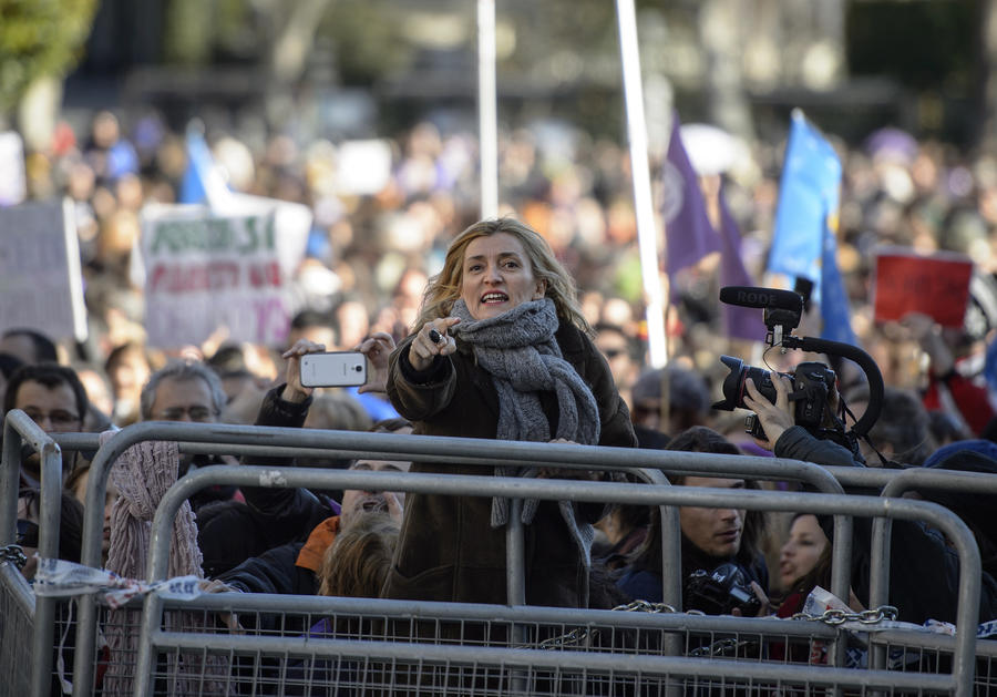 В Испании прошли протесты против ограничения права на аборт