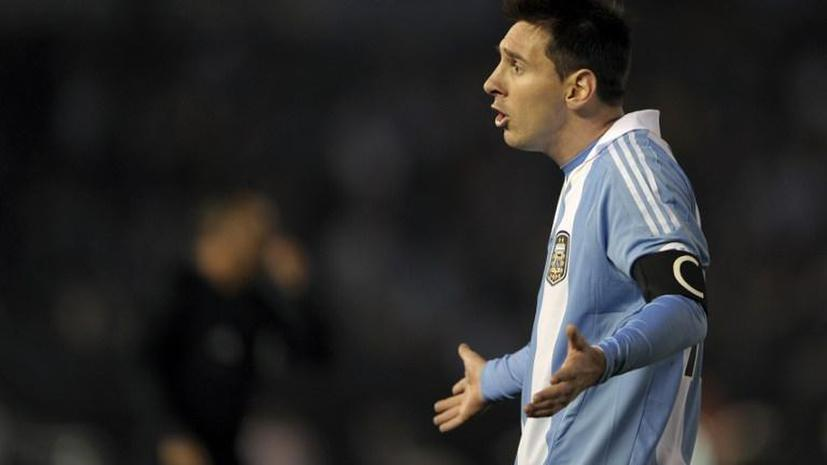 Футболист Лионель Месси задолжал испанской казне 4 млн евро