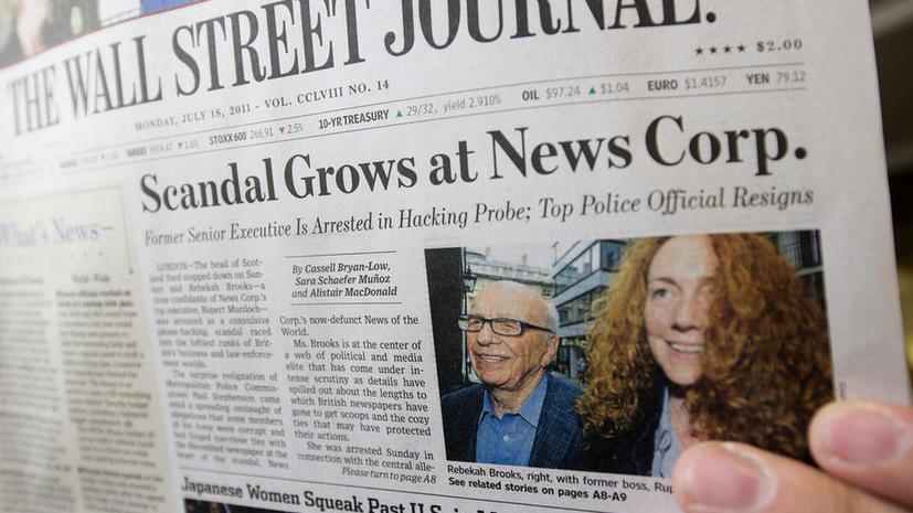 На взломанной странице TheWallStreetJournalв Facebook хакеры сообщили о пропаже самолёта Обамы