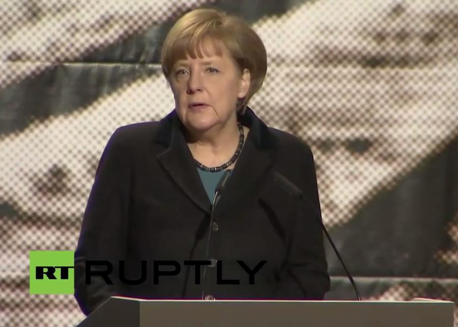 Ангела Меркель напомнила всем, что Освенцим освободили советские солдаты