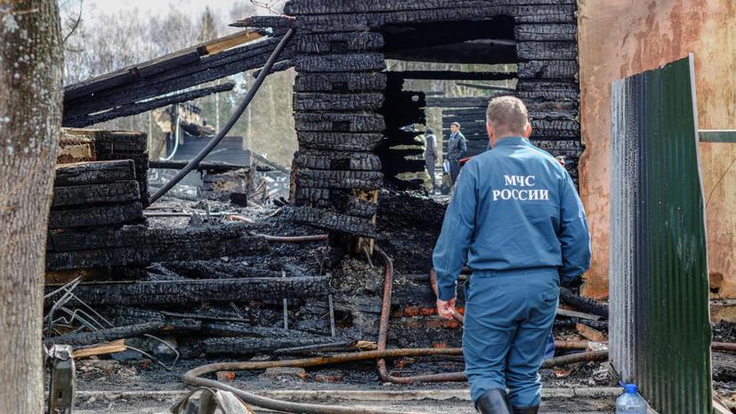 Установлены личности 9 погибших при пожаре в подмосковной психбольнице