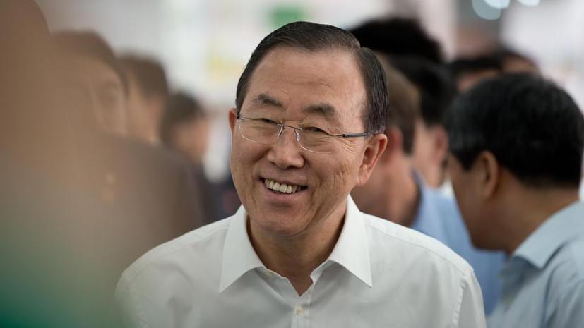 Пан Ги Мун призвал сирийцев сложить оружие в Рамадан
