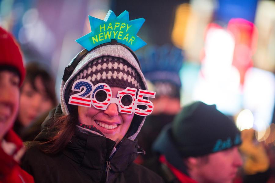 Огурец, огромная сардина и орех: какие символы означают для жителей США наступление Нового года