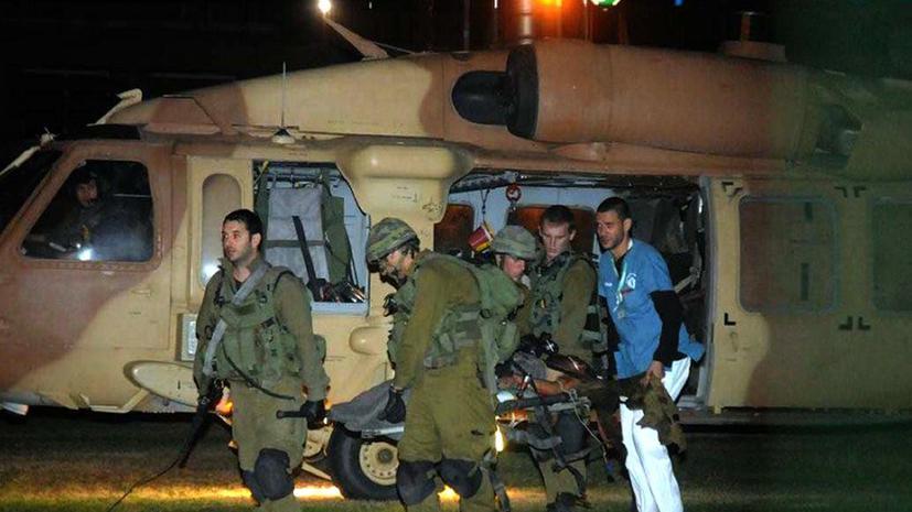 Пятеро палестинцев погибли в результате атаки Израиля