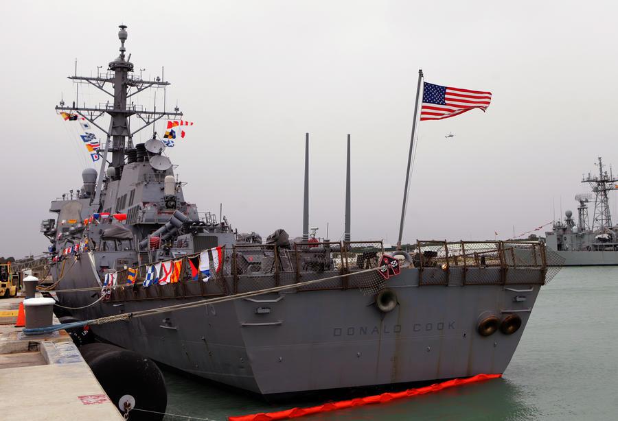 В связи с событиями на Украине США направляют в Чёрное море эсминец