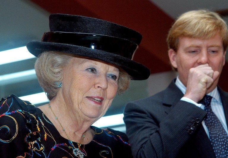 Королева Нидерландов передала трон старшему сыну