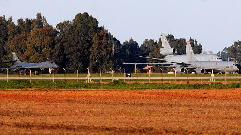 США разместили военные самолеты в Испании, но местная экономика не получит от этого никакой выгоды