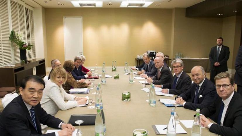 Главы МИД «шестёрки» провели координационную встречу совместно с представителями Ирана