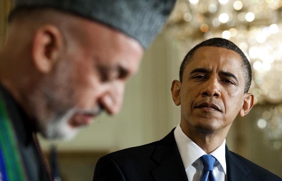 Карзай разозлил Обаму: США могут ускорить вывод войск из Афганистана