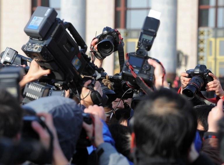 Китайские журналисты устроили акцию протеста против цензуры