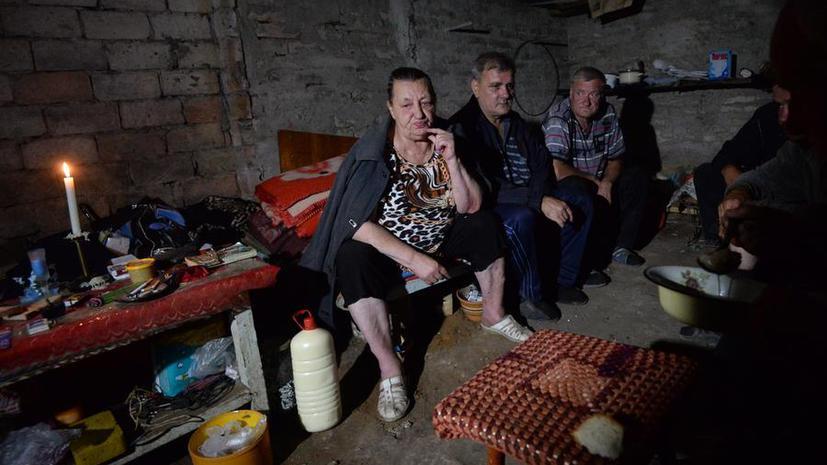 Жители востока Украины: За разрушенный Донбасс «Порошенко надо повесить»