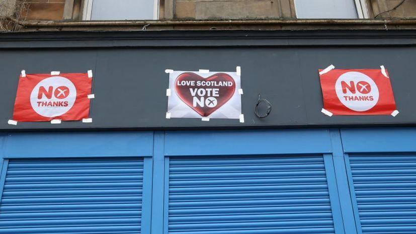 На референдуме в Шотландии победили противники независимости