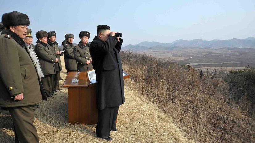 Пхеньян пригрозил разорвать перемирие с Южной Кореей из-за военно-морских учений